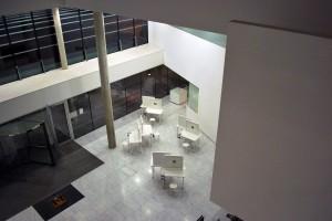 Atrium1-work from above -2.MarieBrett-Anamnesis-AmuletTour-CorkCityHall2014_PhotoByMarieBrett
